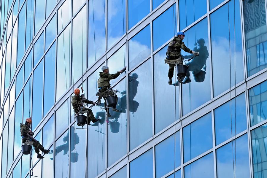 Reinigung Glassfassade