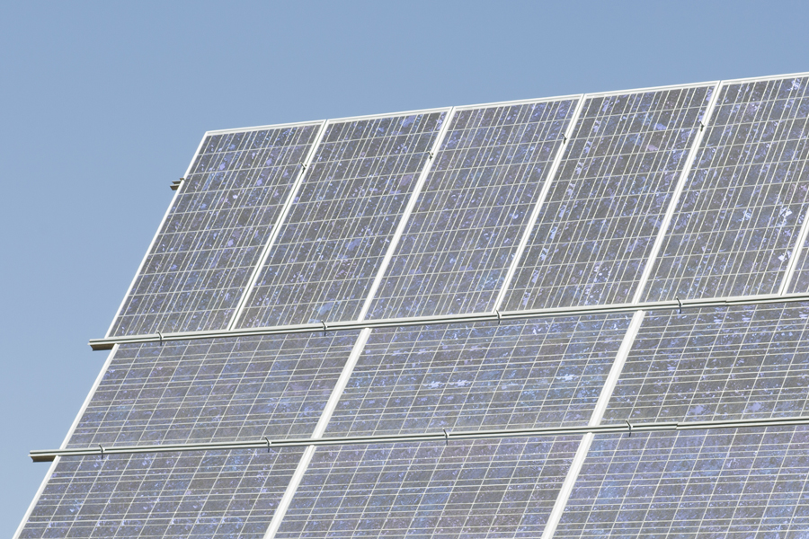 Photovoltaikanlage säubern Solaranlage reinigen